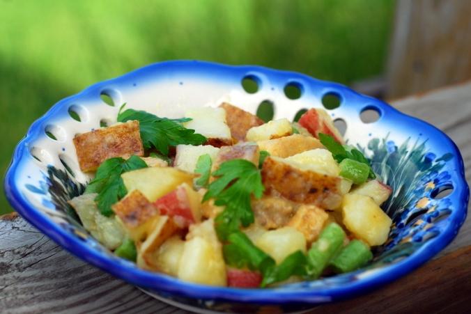 potato salad in bowl 2
