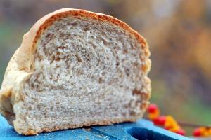 wheat bread close up