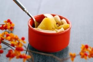acorn squash in bowl