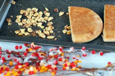 walnuts and pita