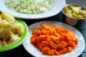 chopped vegetables 3